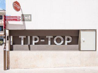 letras de hormigon, TIP TOP, Vilafranca del Penedès