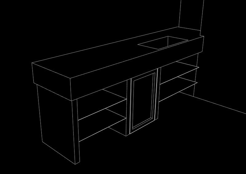 dibujo lineal 3d