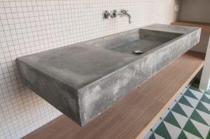 lavamanos de hormigón